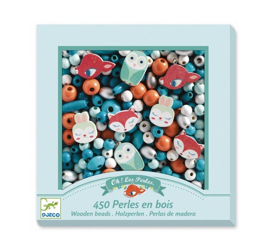 Wooden Beads Little Animals