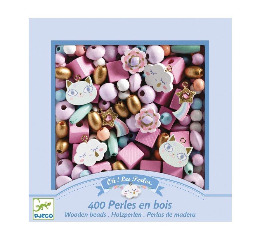 Wooden Beads Rainbow