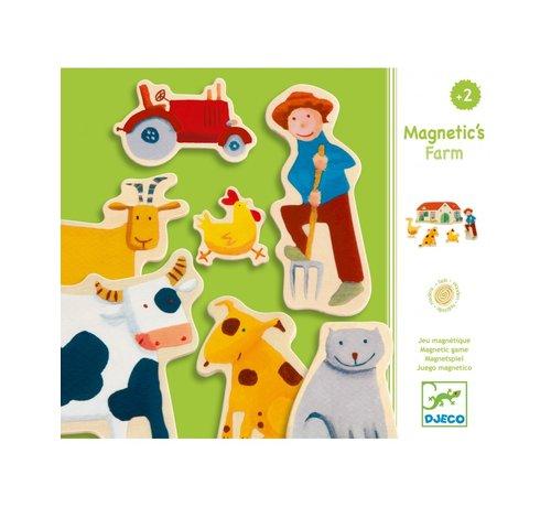 Djeco Magneten Boerderij