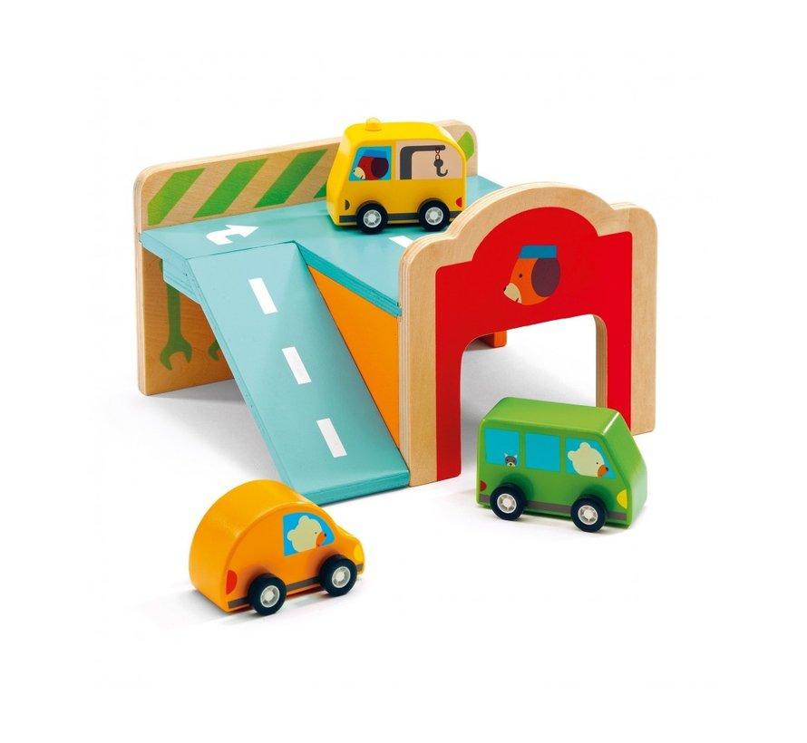 Mini Garage Hout