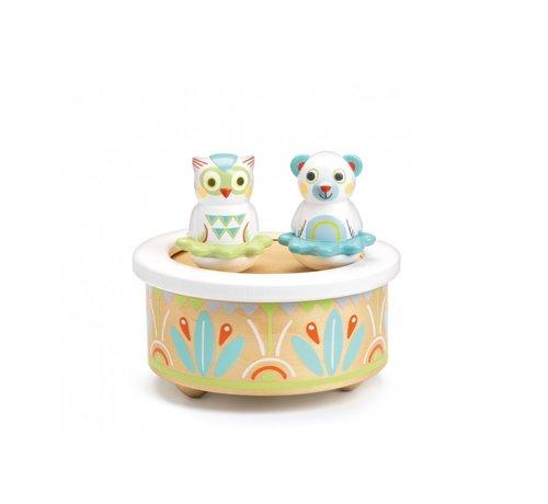 Djeco Magnetic Music Box Baby Music