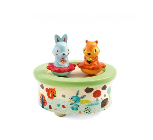 Djeco Magnetic Music Box Friends Melody