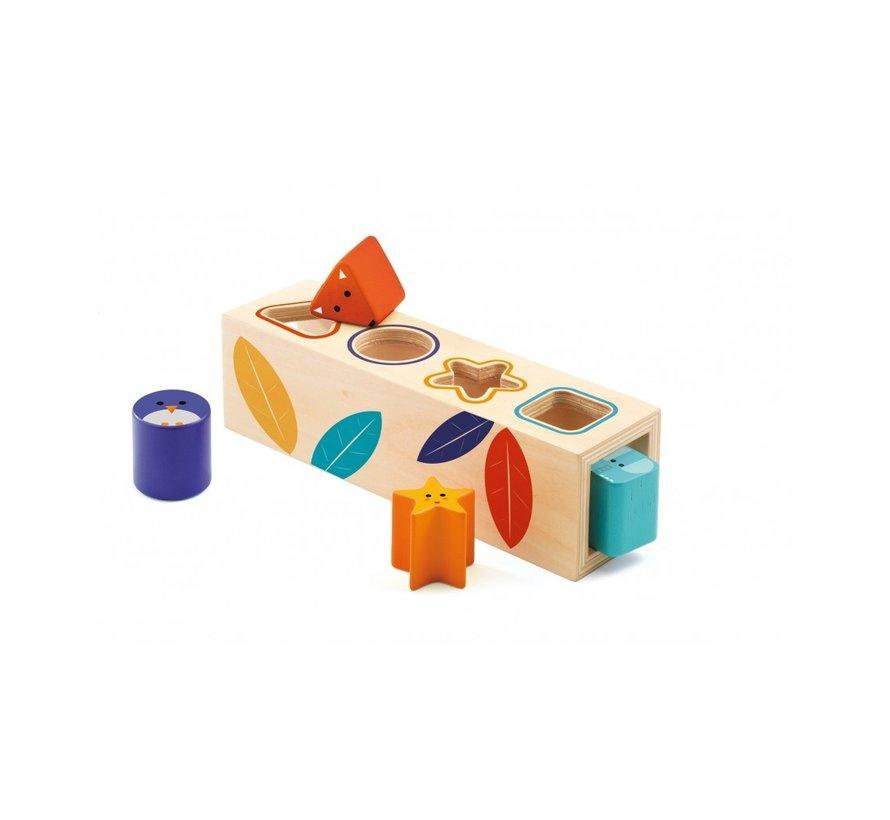 Vormen Sorteerbox Boitabasic Hout