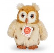 Hermann Teddy Stuffed Animal Owl Golden Brown