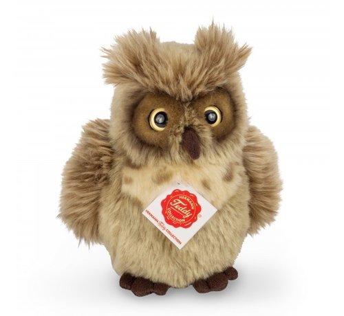 Hermann Teddy Stuffed Animal Owl Greyish Brown