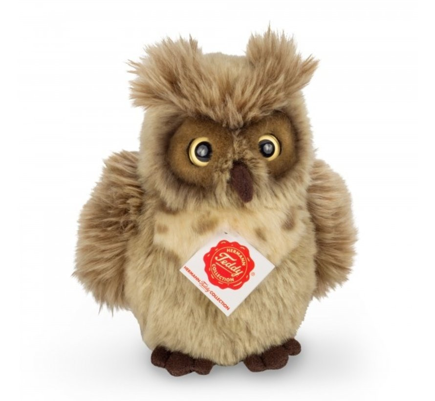 Stuffed Animal Owl Greyish Brown