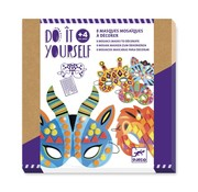 Djeco Do It Yourself Masks Jungle Animals