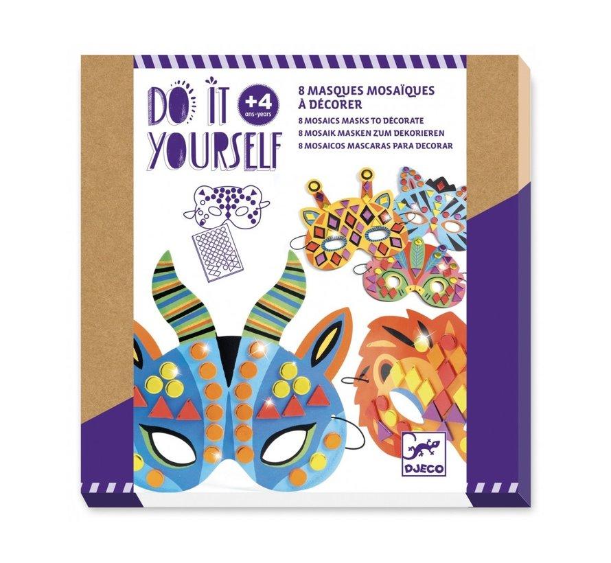 Knutselset Maskers Versieren