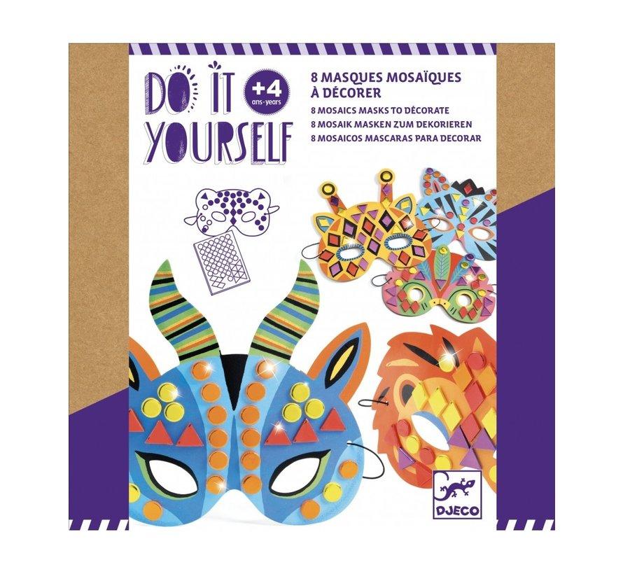 Do It Yourself Masks Jungle Animals