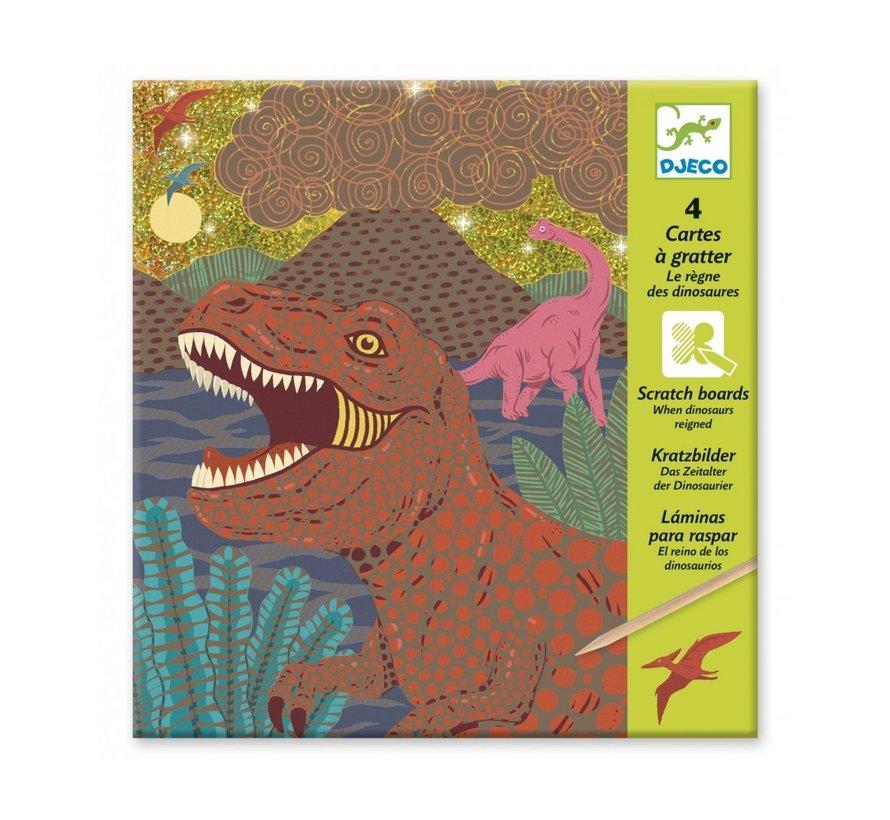 Scratch Boards Dinosaurs