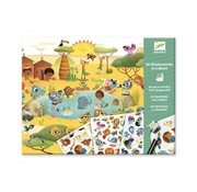 Djeco Krasplaatjes Savanne, Woestijn, Noordpool