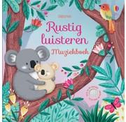 Uitgeverij Usborne Rustig luisteren Muziekboek