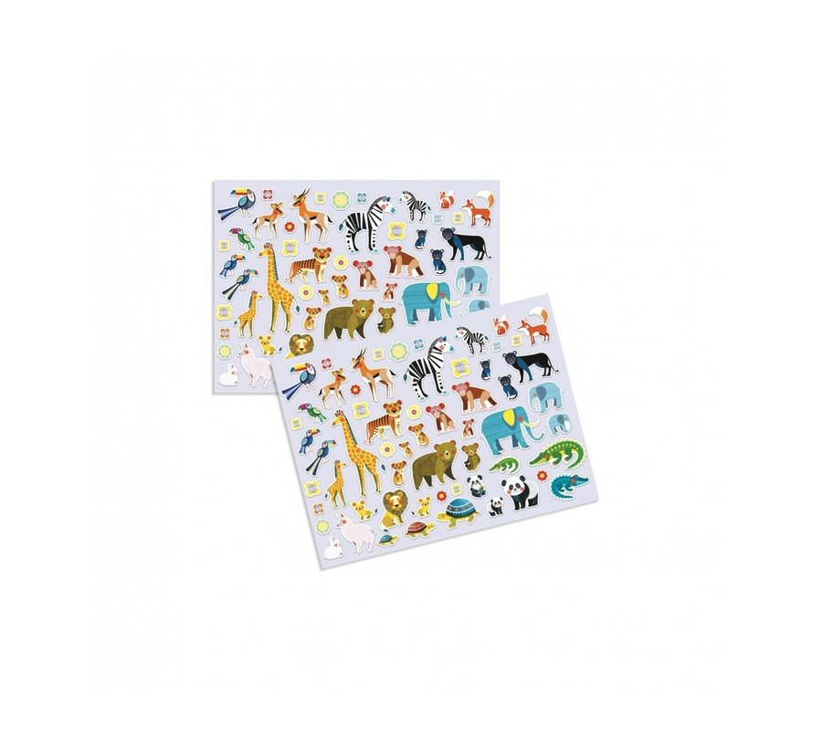 Puffy Stickers Mothers and Babies