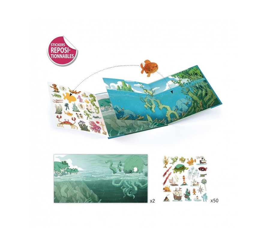 Sticker Stories Adventures at Sea