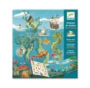 Djeco Stickerboek Avonturen op Zee