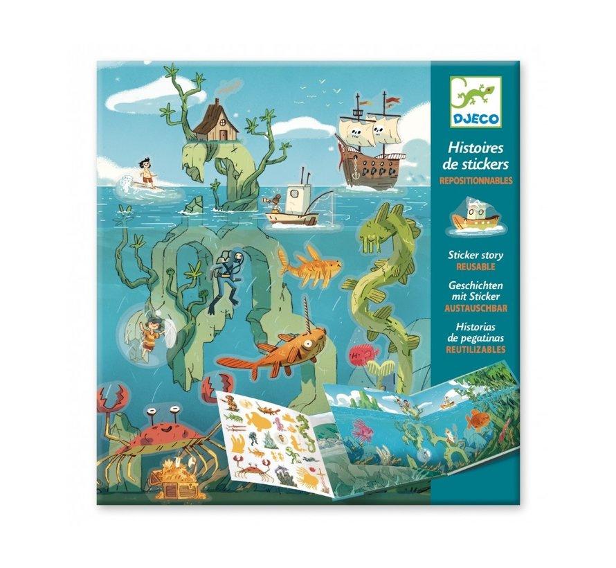 Stickerboek Avonturen op Zee