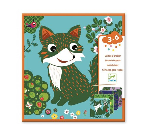 Djeco Scratch Cards Country Creatures