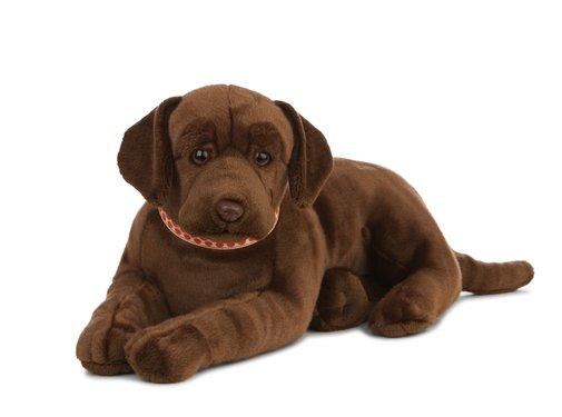 Living Nature Knuffel Hond Labrador Chocoladebruin