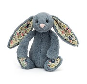Jellycat Knuffel Konijn Blossom Dusky Blue Bunny Small