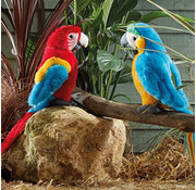 Living Nature Stuffed Animal Macaw