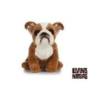 Living Nature Stuffed Animal English Bulldog