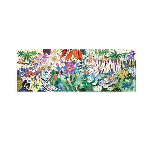 Djeco Puzzle Rainbow Tigers 1000 pcs