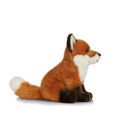 Living Nature Knuffel Vos Zittend 27 cm
