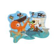 Scratch Contour Puzzel Piraat 29 pcs