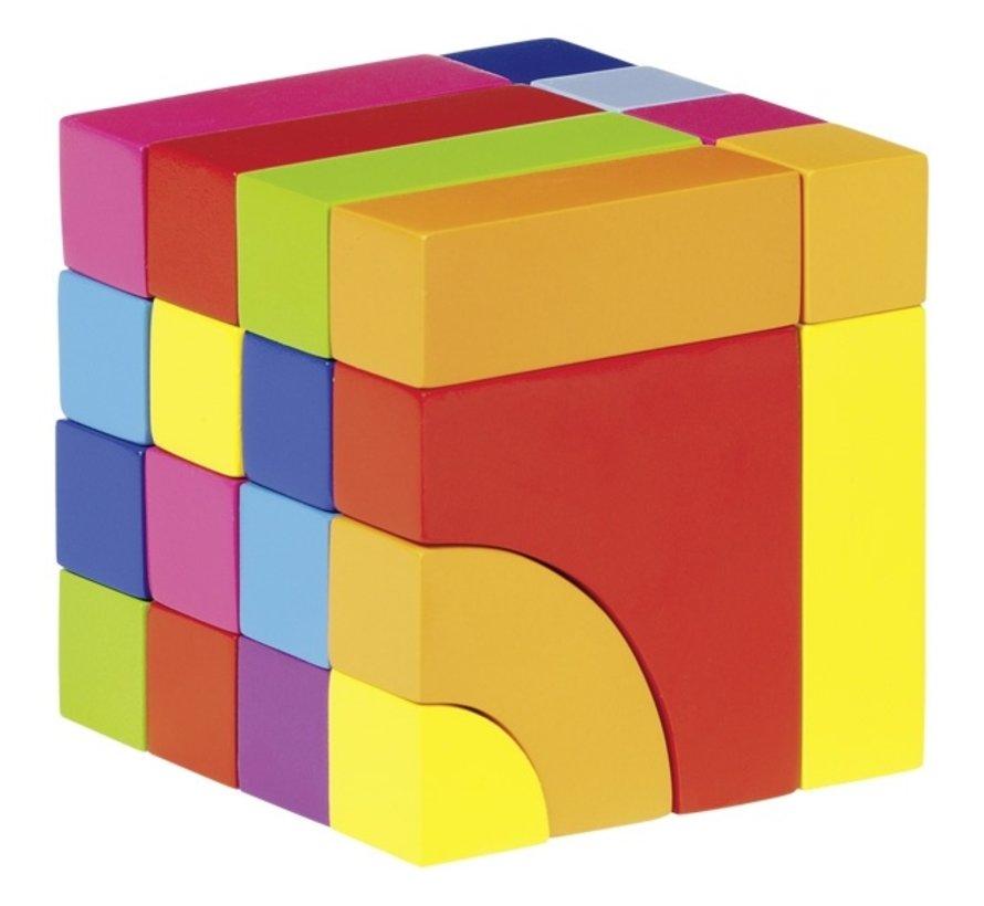 Bouwblokken en Puzzelspel