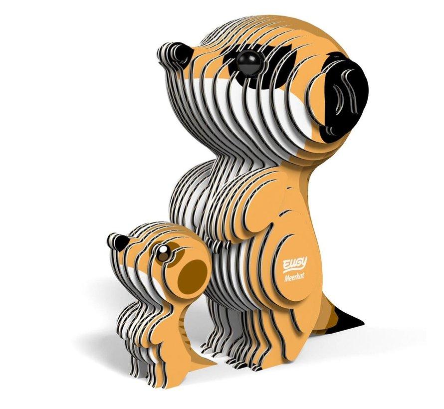 3D Bouwpakket Stokstaartje