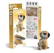 Eugy 3D Cardboard Model Kit Meerkat