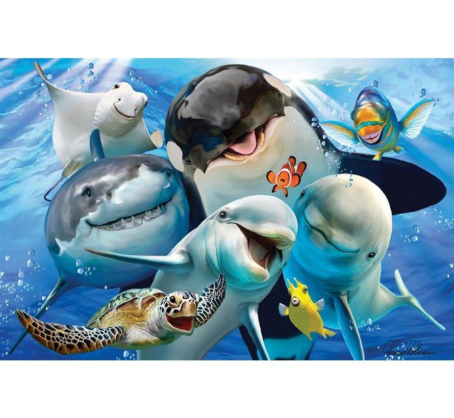Puzzle 3D Ocean Selfie 48pcs