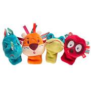 Lilliputiens Jungle Finger Puppets 4-pcs