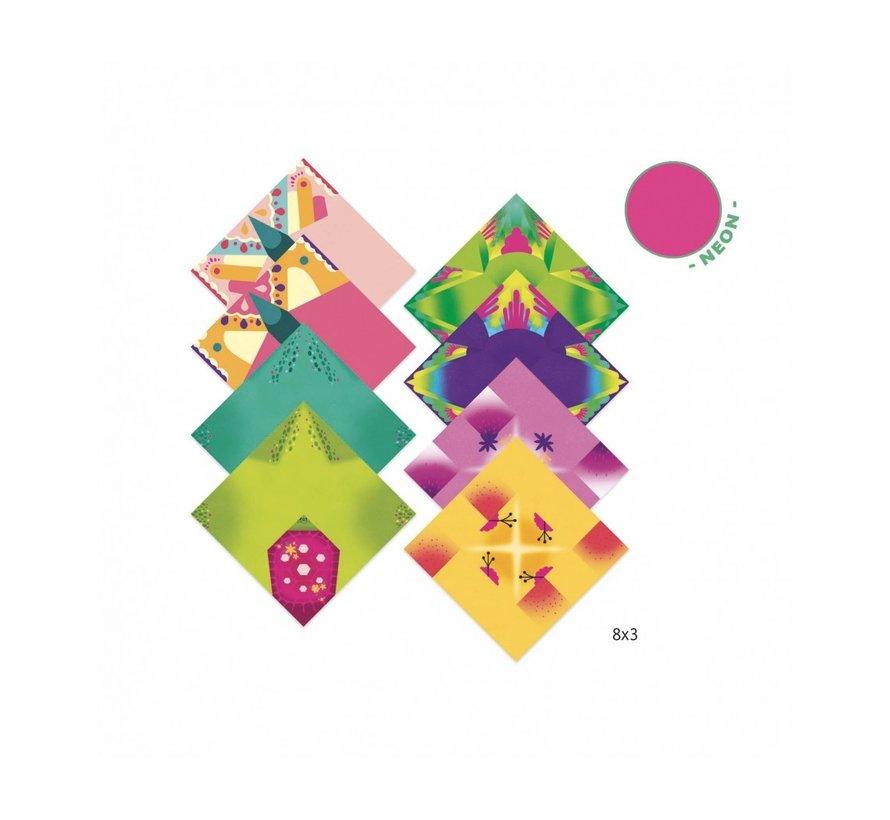 Origami Tropische Dieren