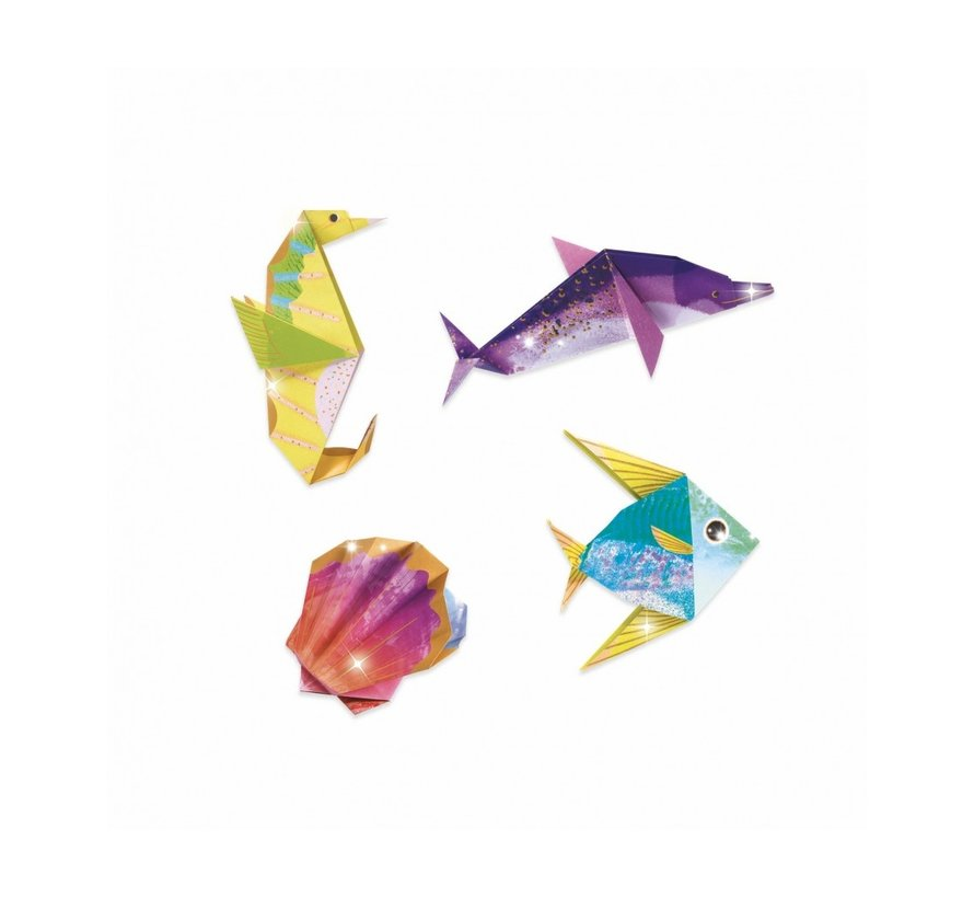 Origami Zeedieren