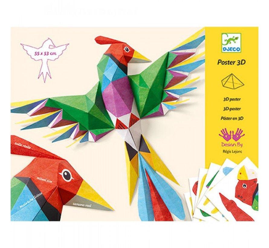 Knutselset 3D Poster Amazonegebied