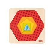 GOKI Puzzel Geometrische Vormen