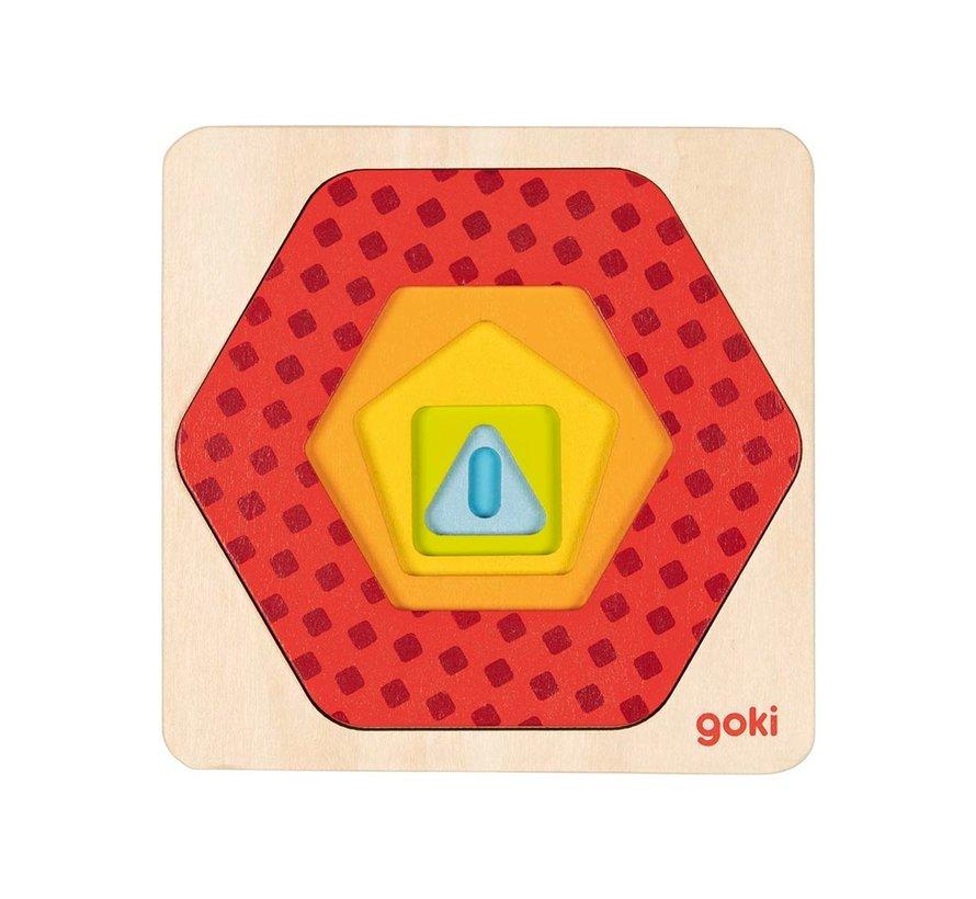 Puzzel Geometrische Vormen
