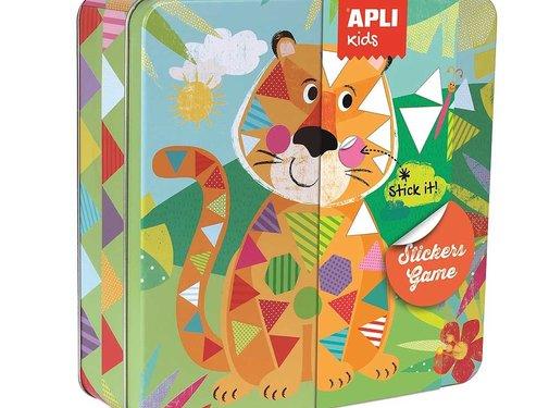 APLI Stickers game Jungle