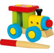 Small Foot Constructie Locomotief Hout