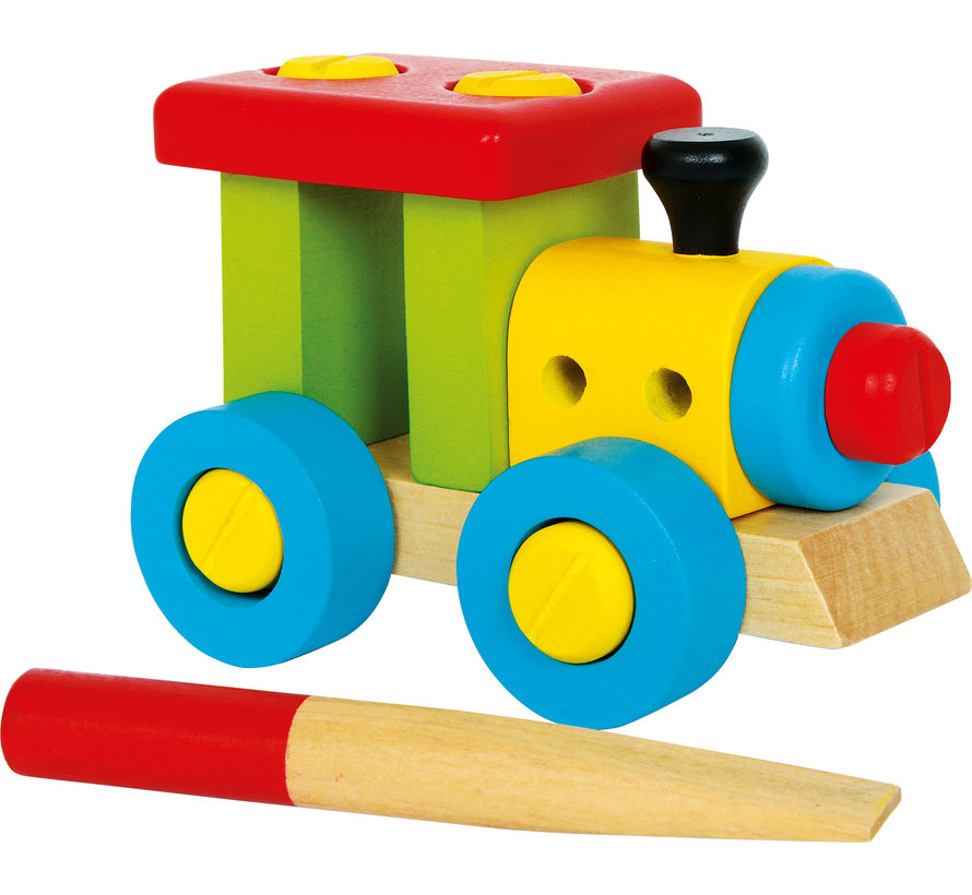Constructie Locomotief Hout