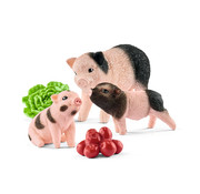 Schleich Miniature Pig Mother and Piglets 42422