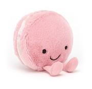 Jellycat Knuffel Amuseable Macaron Raspberry