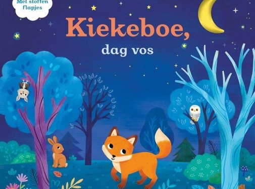 Ballon Media Flapjesboek Kiekeboe, dag vos