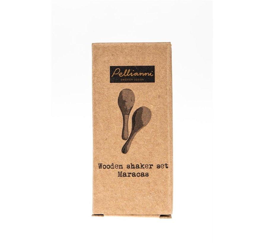 Wooden Shaker Pastel