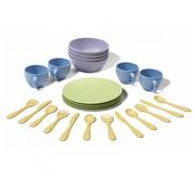 Green Toys Dish Set 24-pcs