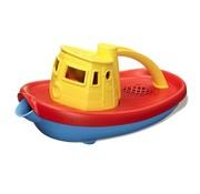 Green Toys Sleepboot Geel