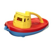 Green Toys Tugboat Yellow