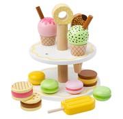 Bigjigs Etagere met Zoetigheid Sweet Treats Set