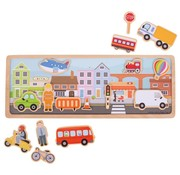 Bigjigs Magneetbord City
